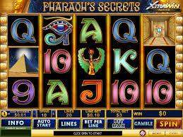 Spielen sie Pharoahs Secrets Automatenspiele Online bei Casino.com Österreich